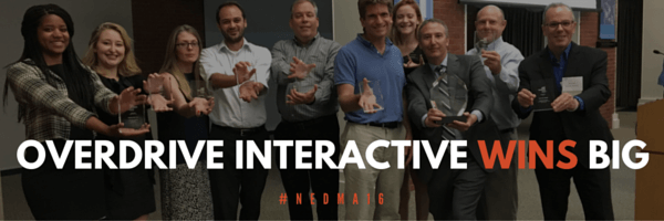 Overdrive Interactive Wins 9 Awards at 2016 NEDMA Awards