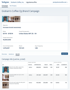 ad insights screenshot